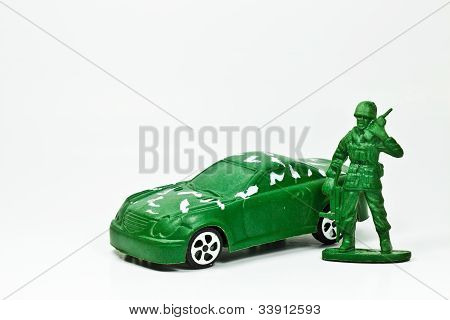 The Green Toy Soldier