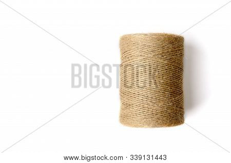 Spool Of Thread. Twine. Threads In A Skein. Hard Threads. Twine For Work. Threads For Working Moment