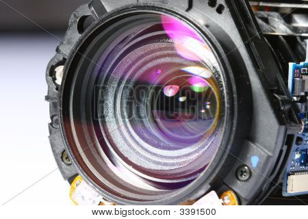Camera Lens Removed From It'S Original Casing