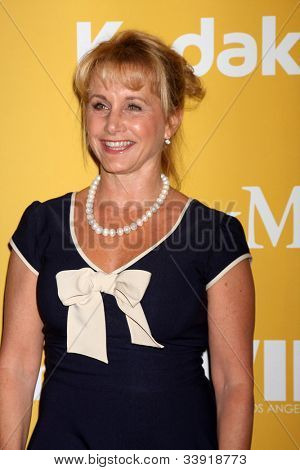 LOS ANGELES - JUN 12:  Gabrielle Carteris arrives at the City of Hope's Music And Entertainment Industry Group Honors Bob Pittman Event at Beverly Hilton Hotel on June 12, 2012 in Beverly Hills, CA