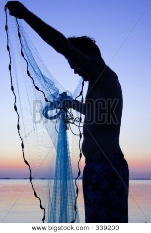 Man With Net