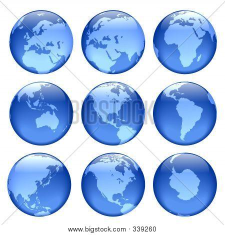 Glowing Globe Views
