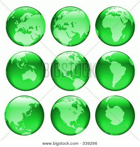 Glowing Globe Views #2