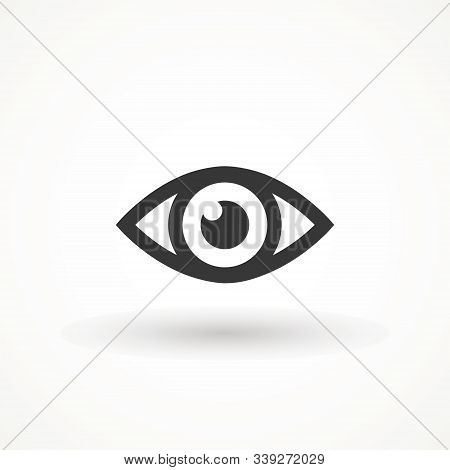 Eye , Look And Vision Icon. Web Site Page And Mobile App Design Vector Element. Sign Of View, Look,