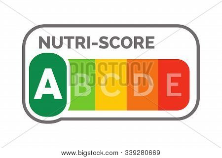 Nutri-score A Label System With A White Background