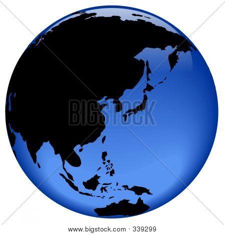 Globe View - Far East