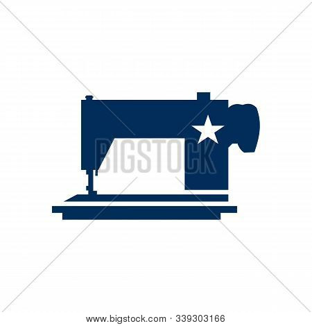Sewing Machine Icon Isolated On White Background From Hobbies Collection. Sewing Machine Icon Trendy