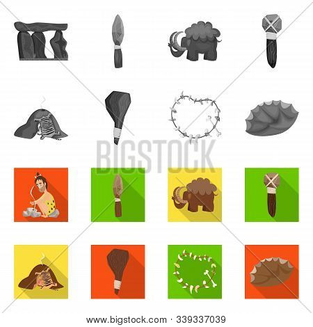 Isolated Object Of Evolution And Prehistory Symbol. Set Of Evolution And Development Stock Vector Il