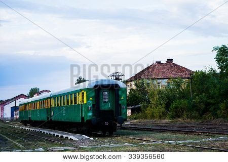 The Oravita Railway Station Built In 1849 Is The First Elevator Station For The Pedestrian Located A