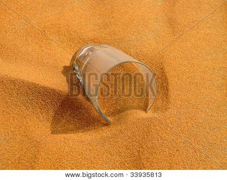 """Red sand """"Arabian desert"""" near Riyadh, Saudi Arabia poster"""