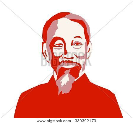 Vietnam, Dec, 2019: Ho Chi Minh, Saigon, Uncle Ho - A North Vietnamese Revolutionary And Politician.