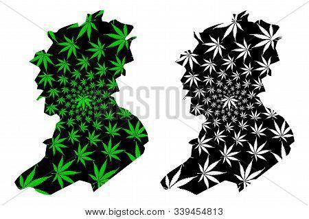 Sidi Bel Abbes Province (provinces Of Algeria, Peoples Democratic Republic Of Algeria) Map Is Design