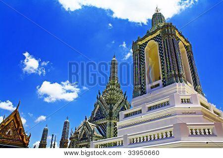 View of Wat Phra Kaew