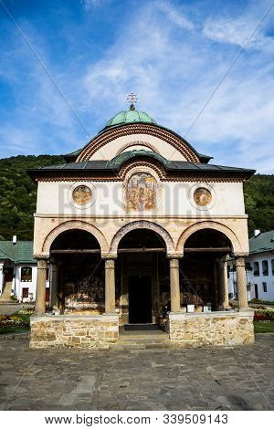 Cozia Monastery Is A Medieval Orthodox Monastic Complex From The 14th Century Located On The Olt Val