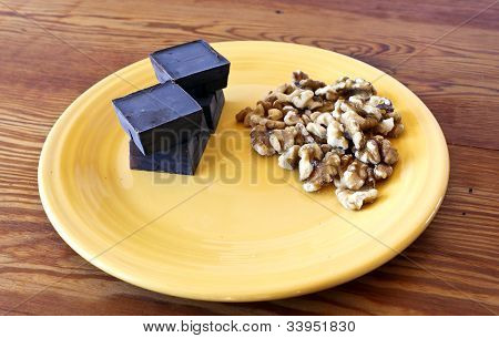 Chocolate And Walnut Ingredients