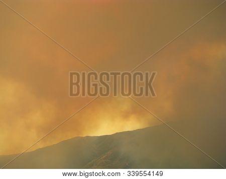 San Bernardino County California Devore Mountain Brush Fire