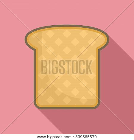 Sandwich Toast Icon. Flat Illustration Of Sandwich Toast Vector Icon For Web Design