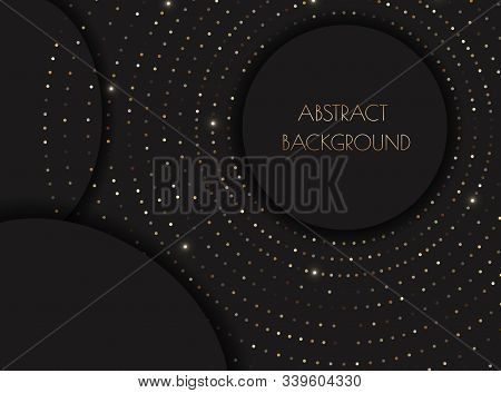 Background. Background Of Gradient Smooth Background Texture On Elegant Rich Luxury Background Web Template Or Website Abstract Background Gradient Or Textured Background  Paper. Vector background EPS10. Vintage gold shiny glowing frame. Modern luxury rea