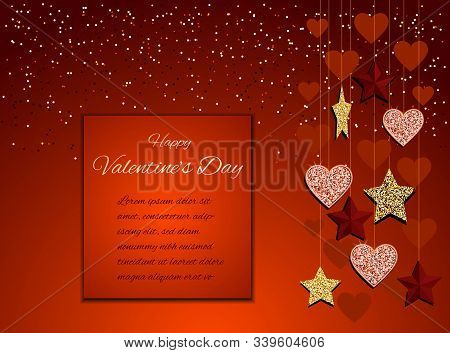 valentines day background 14 february Lush lava vector background/ Valentine, valentine day, Valentines Day background, Valentine's day banners, Valentines Day flyer, Valentines Day design, Valentines Day with Heart on red background, Copy space text area