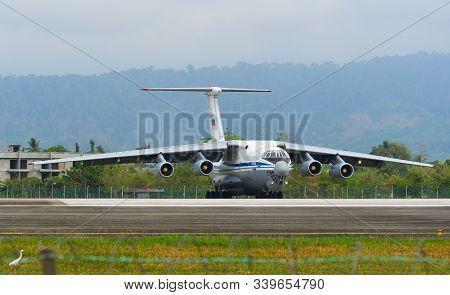 The Ilyushin Il-76Md Aircraft