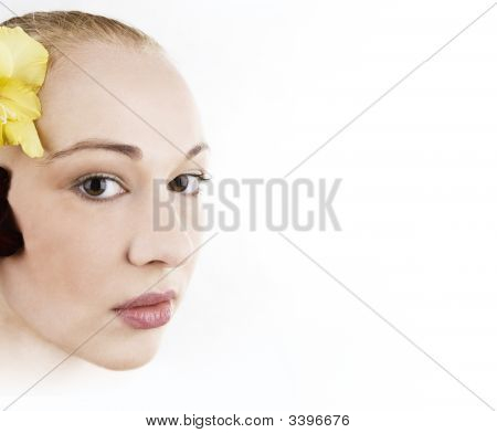 Face Of A Beautiful Woman