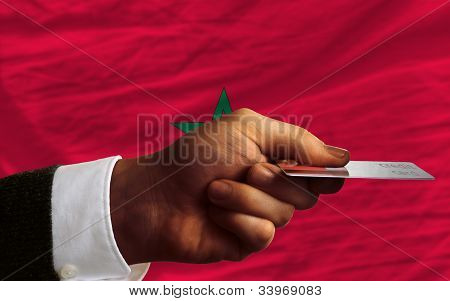 Buying With Credit Card In Morocco