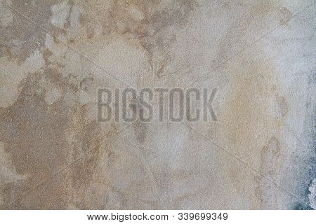 Old Gray Cement Floor As Background And Texture