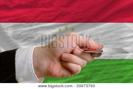 Buying With Credit Card In Tajikistan