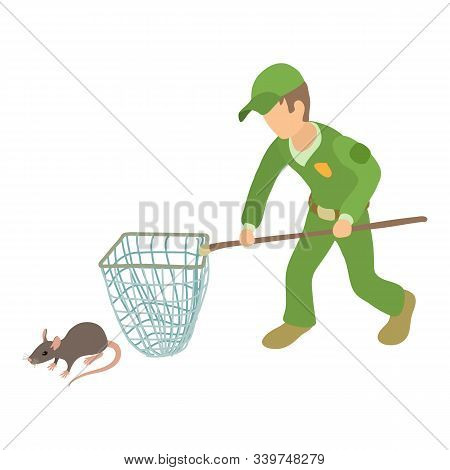 Pest Control Icon. Isometric Illustration Of Pest Control Vector Icon For Web
