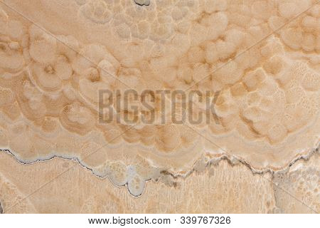 Beige Natural Onyx Marble, Stone Texture. High Quality Texture In Extremely High Resolution.