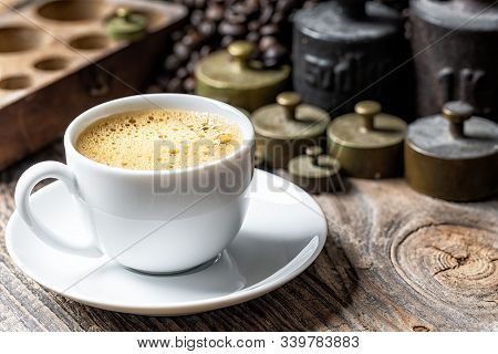 Coffee Cup With Foam