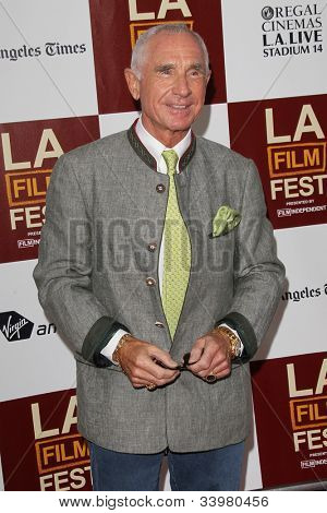 LOS ANGELES - JUN 14:  Frederic Prinz von Anhalt arrives at the