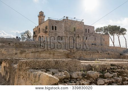Jerusalem, Israel, December 07, 2019 : Archaeological, Tourist And Religious Site - The Tomb Of The