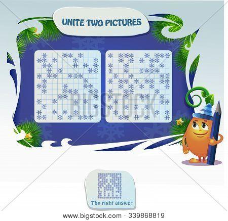 Unite Two Picture Logic Book