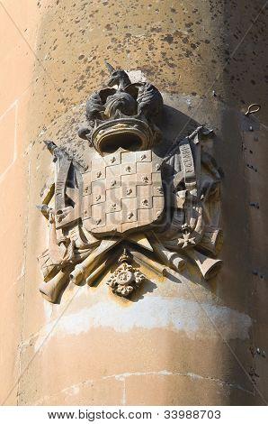 Coat of arms. Lecce. Puglia. Italy.