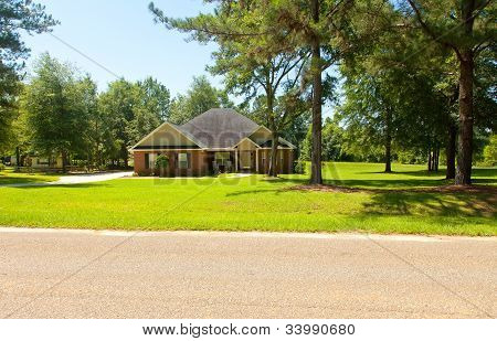 Country Home In Rural Community