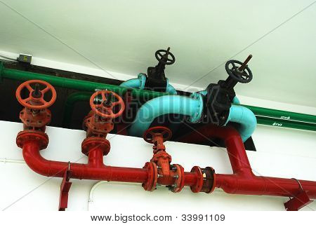 The Pipes And Valves Water