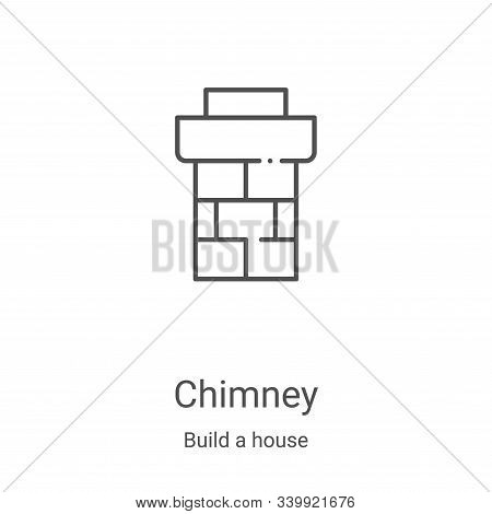 chimney icon isolated on white background from build a house collection. chimney icon trendy and mod