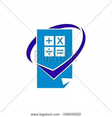 Bookkeeping Accounting Logo Design Template Vector Isolated