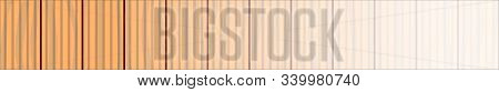 A Background Of Several Strips Of Wooden Grooved Decking Fading To White As A Web Banner