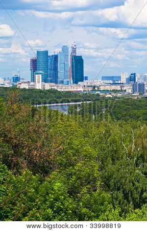 Panorama Of New Moscow City