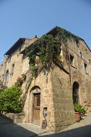 A Corner Of An Ancient Village Of Lazio In Italy