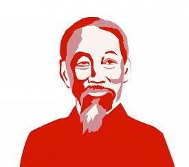 Vietnam, Dec, 2019: Ho Chi Minh, Saigon, Uncle Ho - A North Vietnamese Revolutionary And Politician.