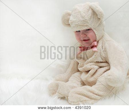 Bebé oso de peluche