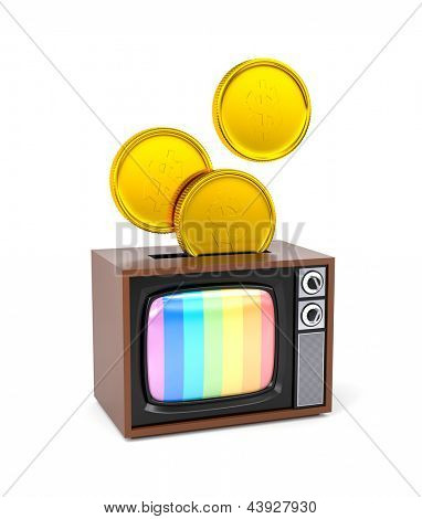 Fee for TV or TV as a piggy bank