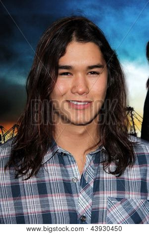 LOS ANGELES - MAR 26:  BooBoo Stewart arrives at the