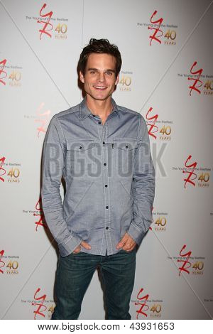 LOS ANGELES - MAR 26:  Greg Rikaart attends the 40th Anniversary of the Young and the Restless Celebration at the CBS Television City on March 26, 2013 in Los Angeles, CA
