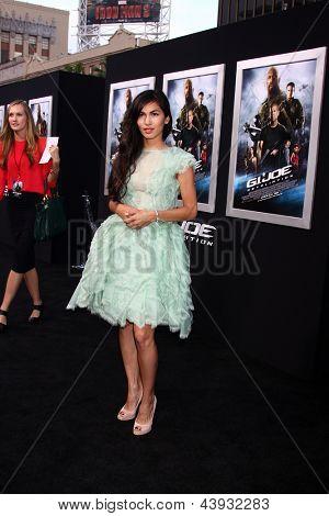 LOS ANGELES - MAR 28:  Elodie Yung arrives at the