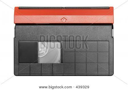 Mini Dv Cassette W/ Path (top View)