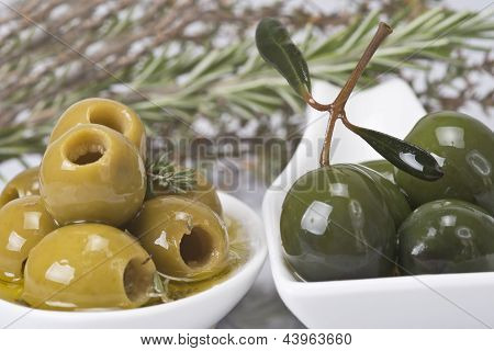 Olives And Aromatic Herbs